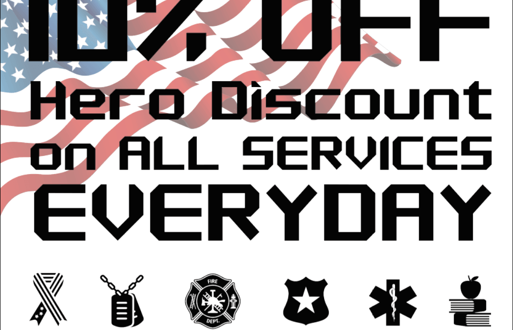 Everyday Hero Discount